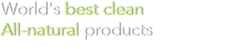World's best clean